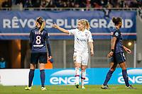Ada Hegerberg (Olympique Lyonnais), Erika Cristiano dos Santos (PSG women), Georges Laura (PSG women)