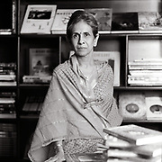 Shashi Deshpande is an award-winning novelist. She is the second daughter of famous Kannada dramatist and writer Sriranga.