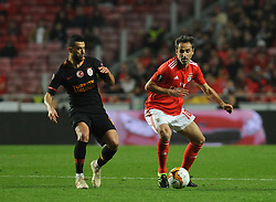 February 22, 2019 - Na - Lisbon, 21/02/2019 - SL Benfica received Galatasaray SK tonight at Est√°dio da Luz in the second qualifying round of the Europa League 2018/2019. Jonas  (Credit Image: © Atlantico Press via ZUMA Wire)