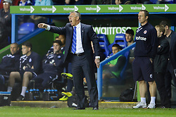 Manager Nigel Adkins (ENG) of Reading shouts from the touchline - Photo mandatory by-line: Rogan Thomson/JMP - 07966 386802 - 14/04/2014 - SPORT - FOOTBALL - Madejski Stadium, Reading - Reading v Leicester City - Sky Bet Football League Championship.