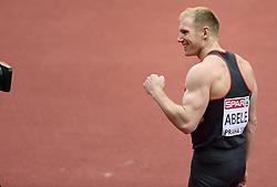 08-03-2015 CZE: European Athletics Indoor Championships, Prague<br /> Arthur Abele GER