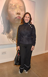 12 December 2019 - Arlene Phillips at a private view of Lethe by Henrik Uldalen at JD Malat Gallery. 30 Davies Street, London.<br /> <br /> Photo by Dominic O'Neill/Desmond O'Neill Features Ltd.  +44(0)1306 731608  www.donfeatures.com