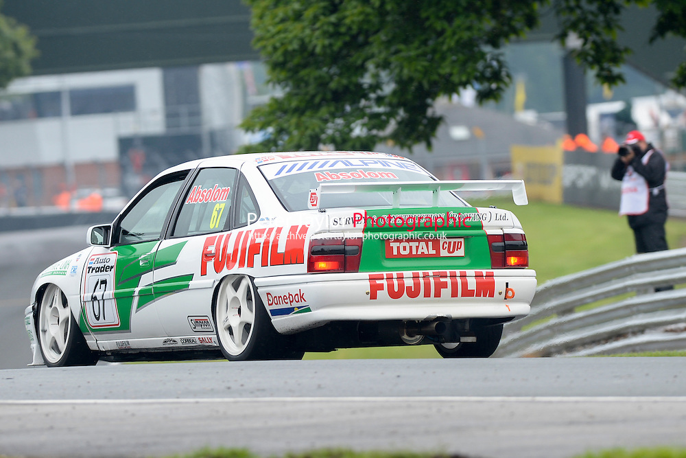 #67 Tony Absolom - Vauxhall Cavalier during HSCC Super Touring Car Championship qualifying at Oulton Park, Little Budworth, Cheshire, United Kingdom. June 07 2014. World Copyright Peter Taylor/PSP. Copy of publication required for printed pictures.  Every used picture is fee-liable. http://archive.petertaylor-photographic.co.uk