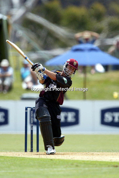 1 February 2003, State Shield cricket Final, North Harbour Oval, Auckland, New Zealand.<br />