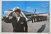 John Travolta's Jumbo Jet Vogue Homme International