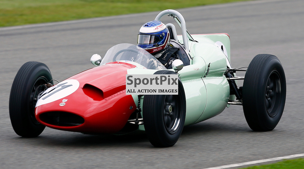 GOODWOOD REVIVAL....Miles Griffiths during qualifying for the weekend races...(c) STEPHEN LAWSON | SportPix.org.uk
