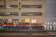 New York: NYC: Gays Against Guns protest NRA supporters, 28 Nov. 2016