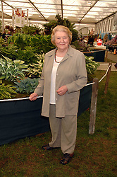 PATRICIA ROUTLEDGE at the 2008 Chelsea Flower Show 19th May 2008.<br /><br />NON EXCLUSIVE - WORLD RIGHTS