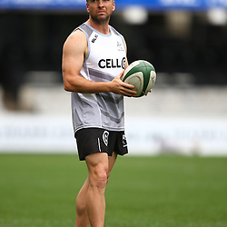 DURBAN, SOUTH AFRICA, 9 September, 2016 - Johan Pretorius Head Strength &amp; Conditioning Coach during The Cell C Sharks Captains Run at Growthpoint Kings Park in Durban, South Africa. (Photo by Steve Haag)<br /> <br /> images for social media must have consent from Steve Haag