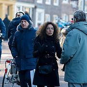 NLD/Amsterdam/20121208 - Herdenkingsdienst voor de verleden Jeroen Willems, Antionette Beumer