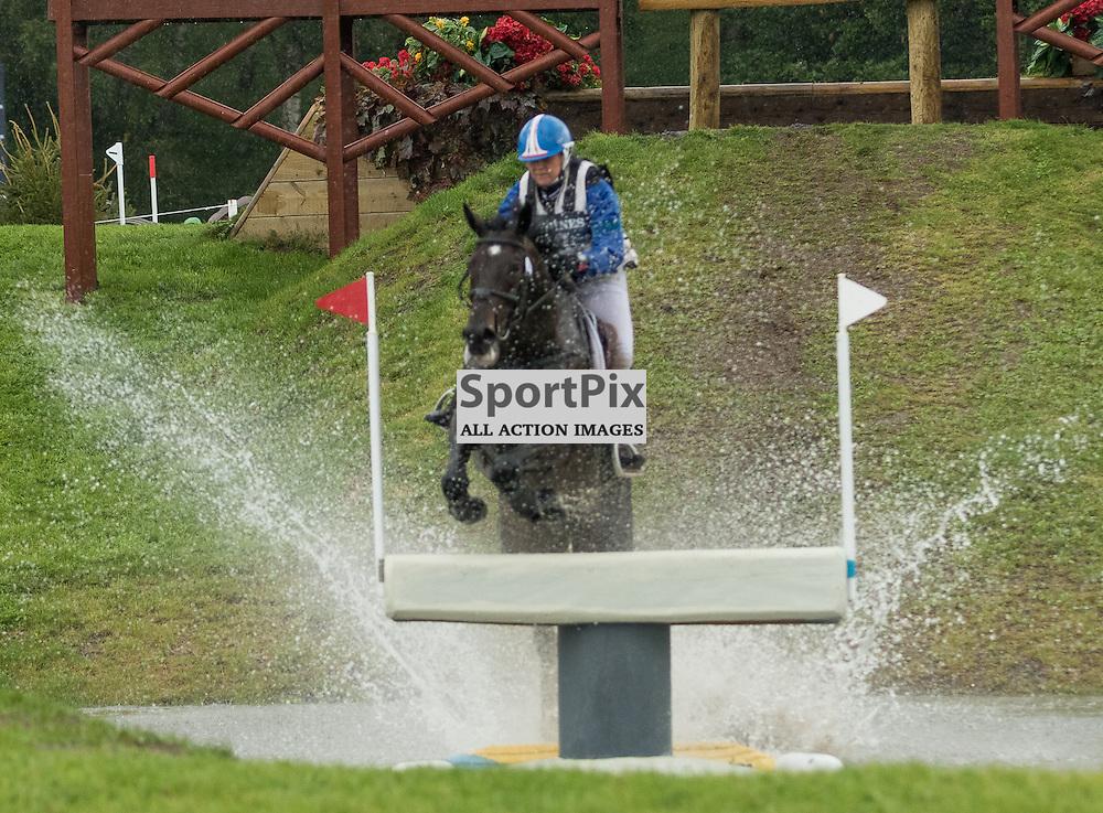 Gwendolen FER (FRA) on Romantic Love.  Longines FEI European Eventing Championship 2015, Blair Castle, 12th September 2015
