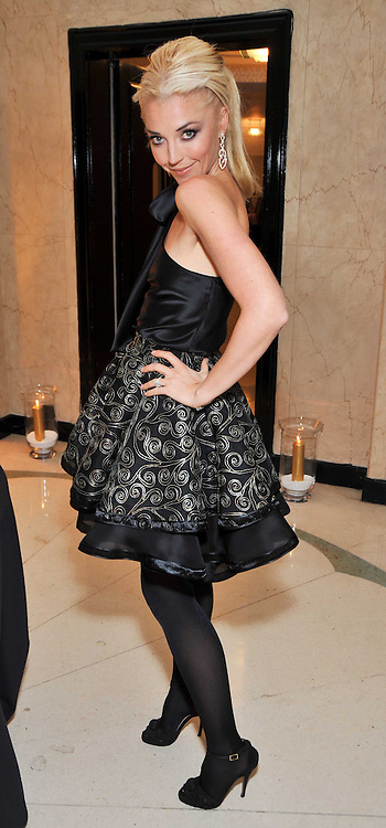 TAMARA BECKWITH at a dinner in honour of Dennis Basso in celebration of his new boutique in Harrods held at Claridge's, Brook Street, London on 15th October 2009.