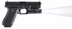 """August 22, 2017 - inconnu - An HD video camera that fixes to police guns and starts filming when the weapon is drawn , is set to provide vital evidence in law enforcement shootings.The 7.5 cms / three inch camera points in the same direction as the weapon.The US maker says it mean no more fumbling or forgetting to turn cameras on by officers,It follows a string of controversial police shootings across the States in the last year.The goal was to provide a solution to increase transparency, accountability, and public trust.It has been built by Viridian Weapon Technologies based in Minnesota.A spokesman said:"""" When a police officer draws a weapon, every second is crucial. """"Viridian wants to make sure that every second is captured.""""The recent scrutiny of police shootings, nationally and locally, prompted the company to develop a camera attachment for guns that could be used by police departments.""""The company calls the product Instant-On.As soon as the weapon leaves the holster, Instant-On automatically activates the camera.""""The camera records video and audio as soon as the gun is drawn.Viridian founder and president Brian Hedeen said: ''We wanted to apply the Instant-On technology to a camera for law enforcement.''As shootings kept happening in different cities we thought 'boy, this is something that's really needed by the public and by law enforcement.'''He hopes law enforcement will adopt the cameras because, unlike body cameras that are activated at the discretion of the officer, they capture footage of high pressure situations immediately.Hedeen said: ''Think about it as mandatory recording of every use of force incident - every time the gun is out,'' The device might have helped shed light on the shooting of Justine Ruszczyk Damond.She died on July 15 after police were called to her Minneapolis home reporting a possible sex assault.Neither of the officers involved in the shooting had body cameras operating at the time the fatal shots w"""