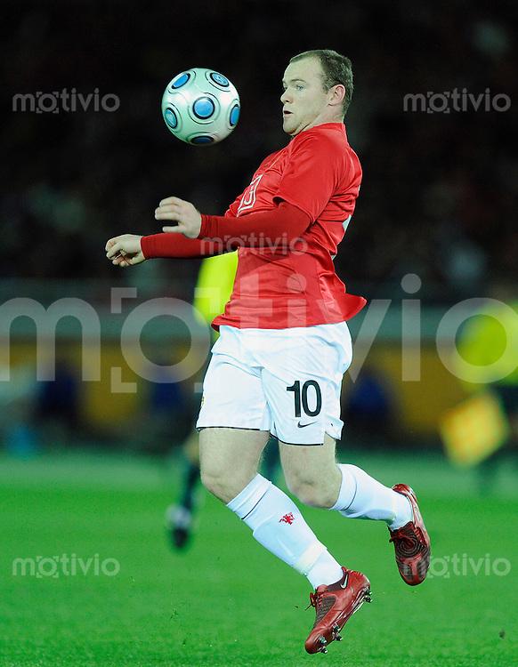 Fussball international 2008/2009 21.12.2008  FIFA Club WM Japan 2008 Finale Liga de Quito - Manchester United Wayne ROONEY (ManU).