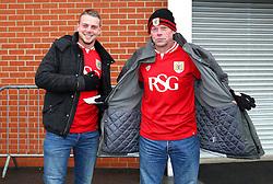 Bristol City fans arrive at the New York Stadium  - Mandatory byline: Matt McNulty/JMP - 28/11/2015 - Football - New York Stadium - Rotherham, England - Rotherham United v Bristol City - Sky Bet Championship