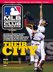 Boston Red Sox, MLB Insiders Club Magazine, 2014
