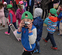 Snapped by this young photographer at the Westport 250 parade on sunday.<br /> Pic Conor McKeown