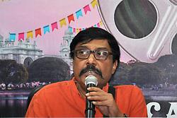 November 17, 2018 - Kolkata, West Bengal, India - Subrata Sen director of film Kali interact with media during last day of 24th Kolkata International Film Festival. (Credit Image: © Saikat Paul/Pacific Press via ZUMA Wire)