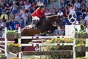 Hans Dieter Dreher - Magnus Romeo<br /> World Equestrian Festival, CHIO Aachen 2012<br /> © DigiShots