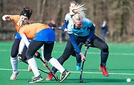BLOEMENDAAL - Bente Pieters (Nijm.) hoofdklasse competitie dames, Bloemendaal-Nijmegen (1-1) COPYRIGHT KOEN SUYK