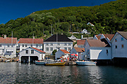 Mid-summer at Rasvaag, a small settlement on the island of Hidra in south-western Norway.