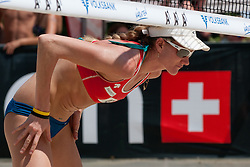 Kerri Walsh of USA at A1 Beach Volleyball Grand Slam tournament of Swatch FIVB World Tour 2011, on August 3, 2011 in Klagenfurt, Austria. (Photo by Matic Klansek Velej / Sportida)