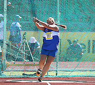 PORT ELIZABETH, SOUTH AFRICA, Friday 13 April 2012, Marelize Engelbrecht in women's hammer throw during the Yellow Pages South African Senior and Combined Events Championships held at the Xerox Nelson Mandela Metropolitan University, Nelson Mandela Bay..Photo by Roger Sedres/Image SA/ASA