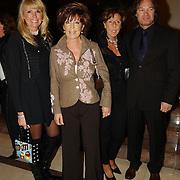 Modeshow Sheila de Vries 2004, Laura Towers en dochter + familie
