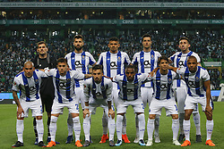 April 18, 2018 - Lisbon, Lisboa, Portugal - FC Porto initial team during the Sporting CP v FC Porto - Portuguese Cup semi finals 2 leg at Estadio Jose Alvalade on April 18, 2018 in Lisbon, Portugal. (Credit Image: © Dpi/NurPhoto via ZUMA Press)