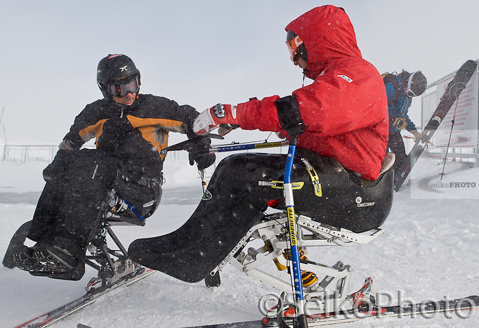 The Steep and Deep Adaptive Ski Camp at The Jackson Hole Mountain Resort, in Teton Village, WY and run in Conjunction with the Teton Adaptive Foundation on March 4, 2011.