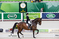 Belinda Trussel, (CAN), Anton - Grand Prix Team Competition Dressage - Alltech FEI World Equestrian Games™ 2014 - Normandy, France.<br /> © Hippo Foto Team - Leanjo de Koster<br /> 25/06/14