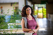 Belo Horizonte_MG, Brasil...Professora da UFMG Ivana Parrela, superintendente cultural da Fundacao Rodrigo Mello Franco...Ivana Parrela is teacher at UFMG, She is cultural  superintendent of Foundation Rodrigo Mello Franco...Foto: JOAO MARCOS ROSA / NITRO