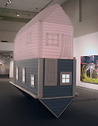 Benjamin Netterville, Inflated, 2012, mixed media, 14ftX4.5ftX14.5ft