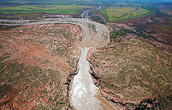 The headwaters of Sir John Gorge on the Fitzroy River.
