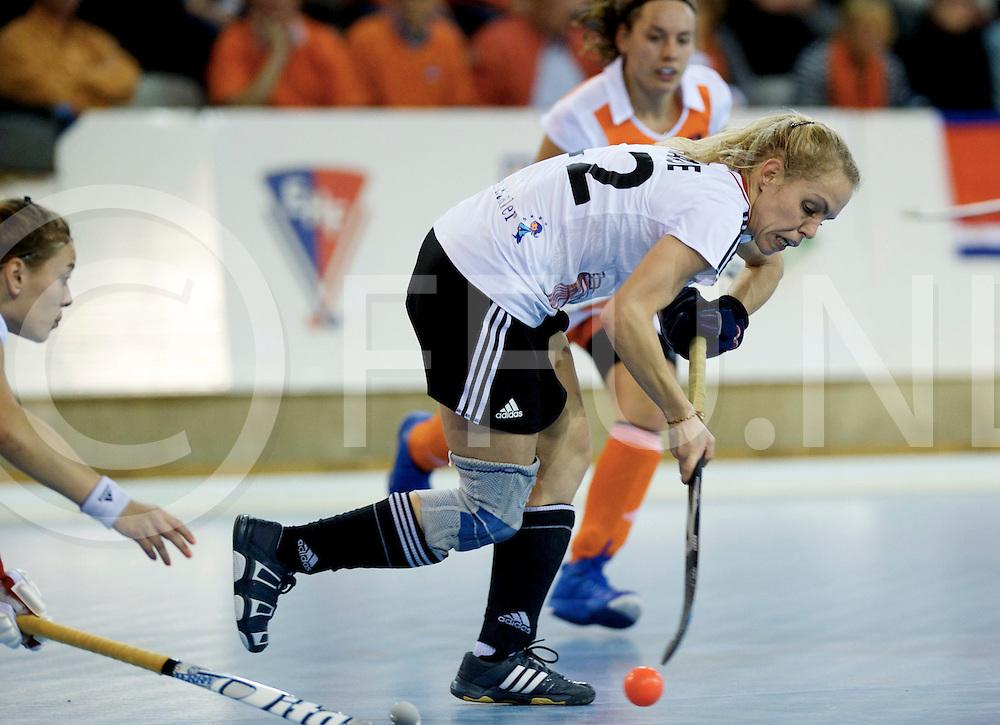 Prague - EuroHockey Indoor Championship (W) 2014<br /> 07 NED v GER (Pool B)<br /> foto: Lydia Haase.<br /> FFU PRESS AGENCY COPYRIGHT FRANK UIJLENBROEK