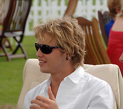 SAM BRANSON  at the Cartier International polo at Guards Polo Club, Windsor Great Park on 29th July 2007.<br /><br />NON EXCLUSIVE - WORLD RIGHTS