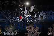 PYEONGCHANG-GUN, SOUTH KOREA - FEBRUARY 09: Dancers perform during the Opening Ceremony of the PyeongChang 2018 Winter Olympic Games at PyeongChang Olympic Stadium on February 9, 2018 in Pyeongchang-gun, South Korea. Photo by Nils Petter Nilsson/Ombrello     ***BETALBILD***