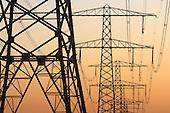Energie elektriciteit energieverbruik elektriciteitsmasten