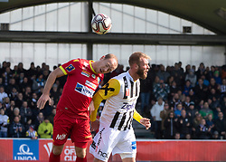16.02.2019, TGW Arena, Pasching, AUT, OeFB Uniqa Cup, LASK vs SKN St. Pölten, Viertelfinale, im Bild v.l. Dominik Hofbauer (SKN St.Poelten), Joao Klauss de Mello (LASK) // during the quaterfinal match of the ÖFB Uniqa Cup between LASK and SKN St. Pölten at the TGW Arena in Pasching, Austria on 2019/02/16. EXPA Pictures © 2019, PhotoCredit: EXPA/ Reinhard Eisenbauer