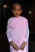 Young Nun at Shew Kyin Monestary, Burma (Myanmar).