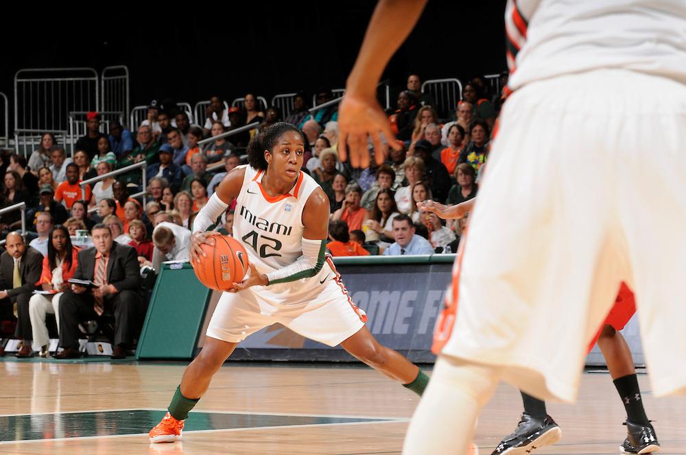 2012 Miami Hurricanes Women's Basketball vs Maryland