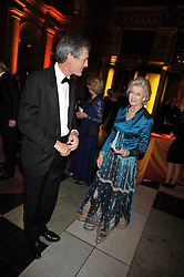 MARK JONES and HRH PRINCESS ALEXANDRA at a dinner to celebrate the opening of 'Maharaja - The Spendour of India's Royal Courts' an exhbition at the V&A, London on 6th October 2009.
