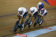 Men Team Sprint, Great Britain, during the UEC Track Cycling European Championships Glasgow 2018, at Sir Chris Hoy Velodrome, in Glasgow, Great Britain, Day 2, on August 3, 2018 - Photo Luca Bettini / BettiniPhoto / ProSportsImages / DPPI - Belgium out, Spain out, Italy out, Netherlands out -