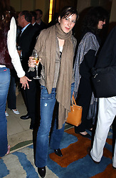 PRINCESS TAMARA CZARTORYSKI-BOURBON at the Harpers & Queen and Moet & Chandon Restaurant Awards for 2004 held at Claridges, Brook Street, London on 1st November 2004.<br /><br />NON EXCLUSIVE - WORLD RIGHTS