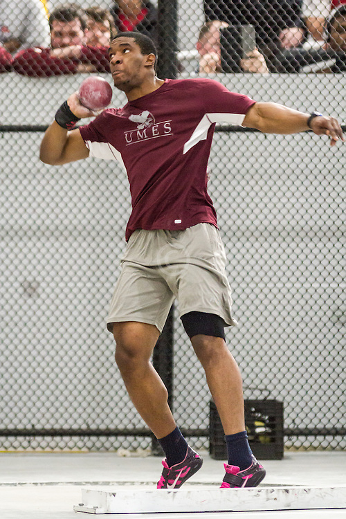 Boston University John Terrier Classic Indoor Track & Field: mens shot put, Dillon Simon, Maryland-East UMES