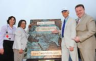 CAPE TOWN, South Africa: Sunday 2 December 2012, Sabine Lehmann , Mayor Patricia de Lille, Bernard Weber and Jean-Paul de la Fuente during the unveiling of the plaque ceremony of Table Mountain as one of the new 7 wonders of the nature..Photo by Roger Sedres