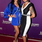 NLD/Utrecht/20160914 - The Bodyguard 1 jarig bestaan, Dounia Rijkschroeff en Sonja Silva