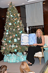 JOELY RICHARDSON at a VIP evening hosted by Joely Richardson at the Tiffany & Co Christmas Shop, Tiffany & Co Old Bond Street, London on 24th November 2013.