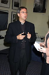 FATHER MICHAEL SEED at a party to celebrate the publication of 'An Act of Peace' by Ann Widdecombe at 11 Carlton House Terrace, London on 19th July 2005.<br />