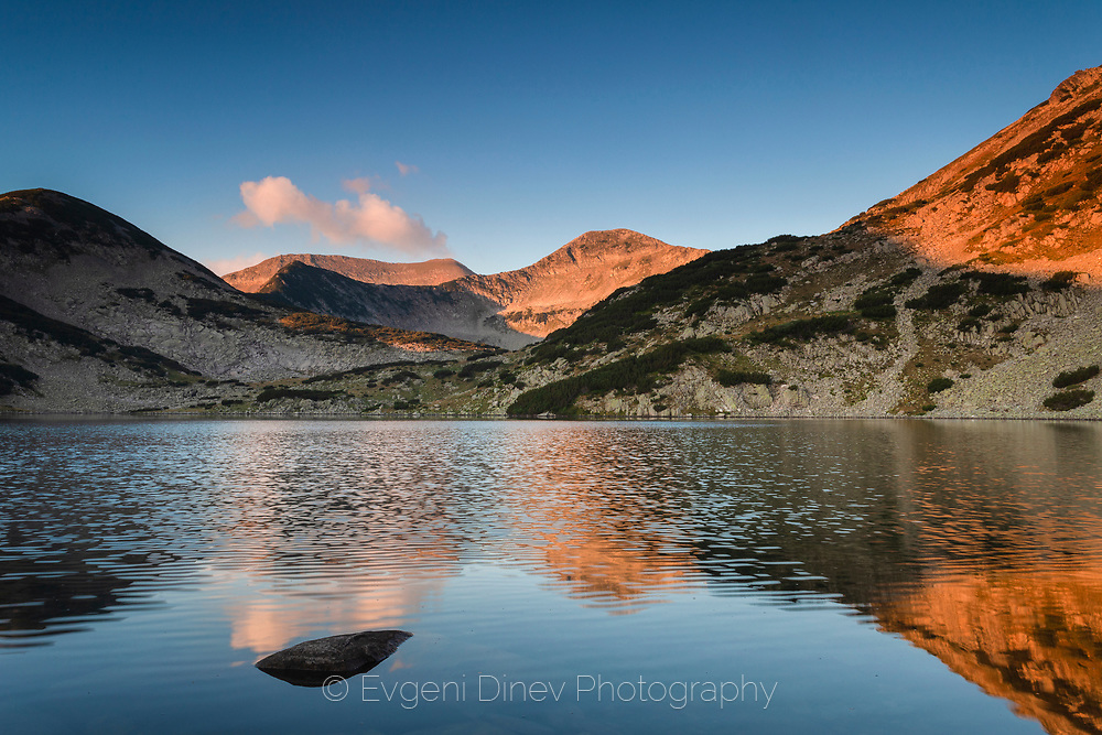 Kremenski lakes in Pirin mountain in August